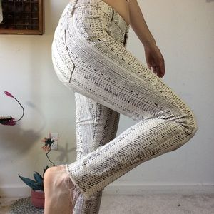 MOTHER Pants - MOTHER Skinny Cream Fray Hem Pants